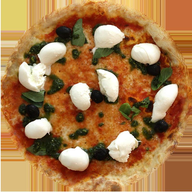 Pizza Margherita e mozza